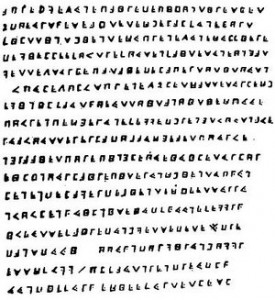 The Cryptogram of Olivier Levasseur